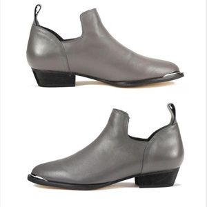 Senso Shoes: Billie Smoke Bootie Leather Boots  6